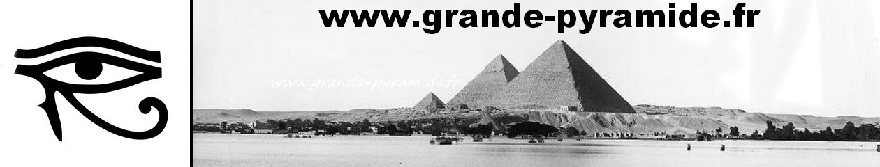 Le  mécanisme d'ouverture de la grande pyramide